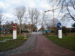 Aardewerk in Stadspark Osdorp