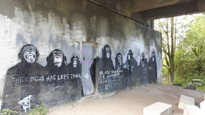 Graffiti Apen