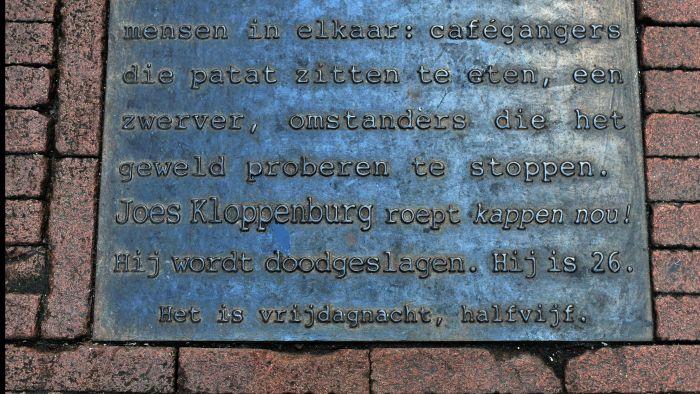 Monument voor Joes Kloppenburg