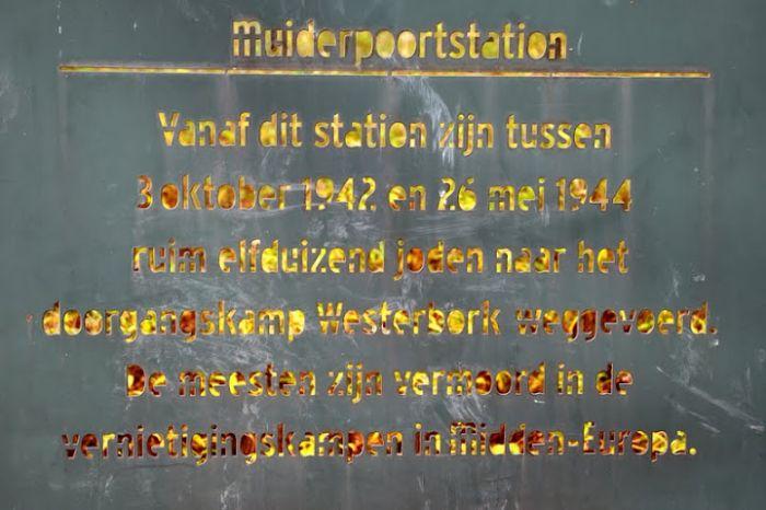 Gedenkteken Muiderpoortstation - 136614