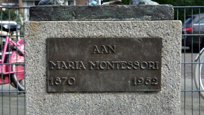 Gedenkteken Maria Montessori
