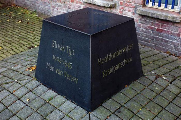 Gedenkteken Eli van Tijn